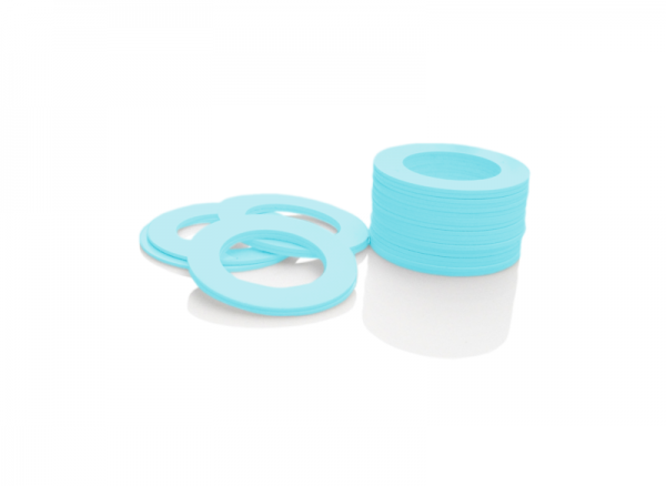 Dekorativer Kunststoffring Hellblau (Joint)