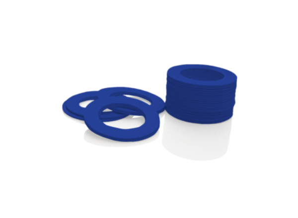 Dekorativer Kunststoffring Blau (Joint)