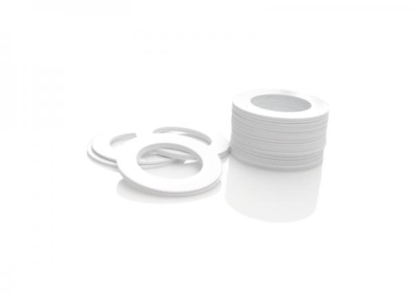 Dekorativer Kunststoffring Weiß (Joint)
