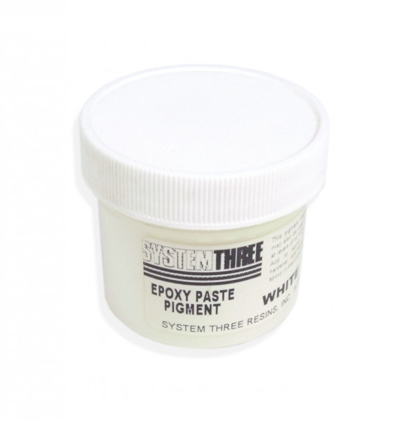 """System Three Epoxy-Pigmentpaste """"Weiss"""""""