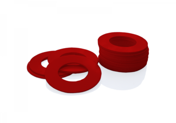Dekorativer Kunststoffring Rot (Butt)