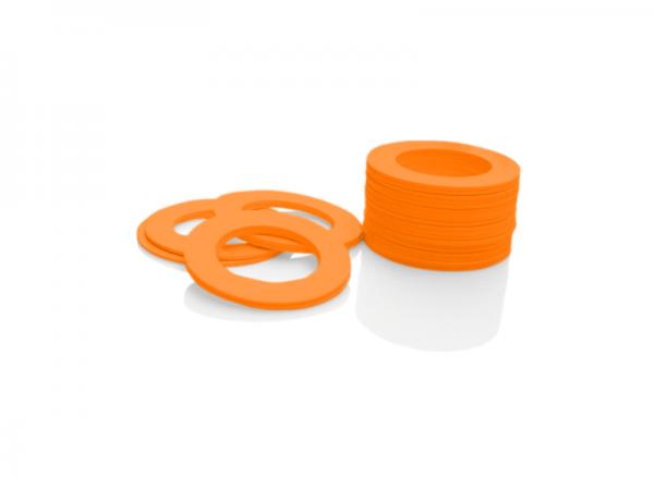 Dekorativer Kunststoffring Orange (Joint)