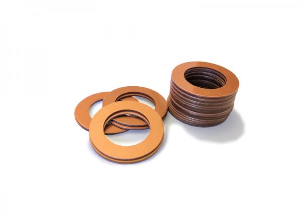 Dekorativer Kunststoffring Kupfer (Joint)