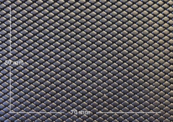 Griffband schwarz matt mit 'kubischer Prägung'