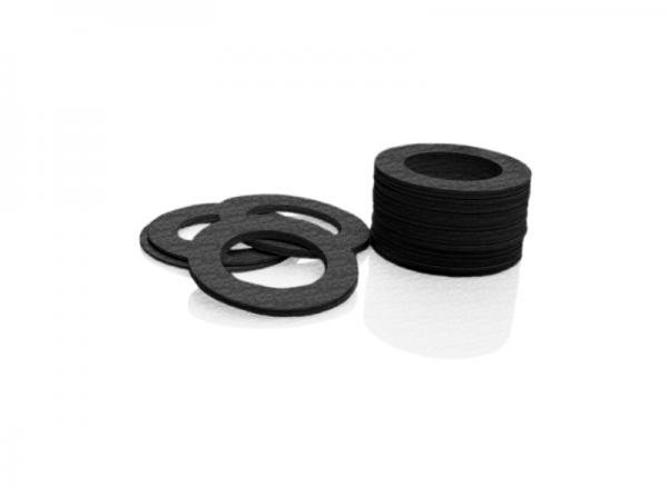 Black Fiber Ring (Joint)