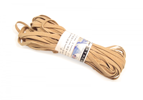 Griffband 'Schichtleder' natur farben ~ 1,5 mm dick