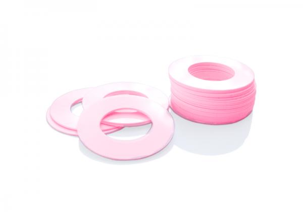 Dekorativer Kunststoffring Pink (Butt)