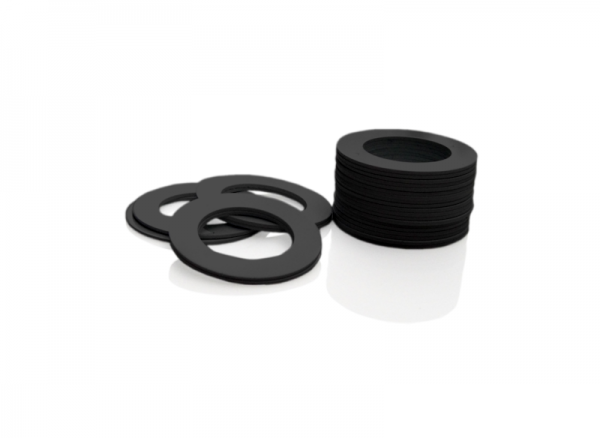 Dekorativer Kunststoffring Schwarz (Joint)