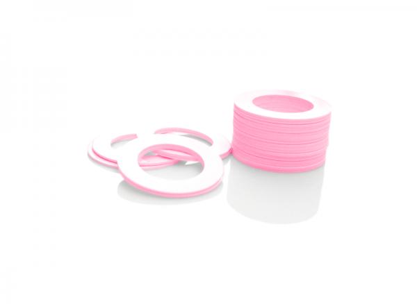 Dekorativer Kunststoffring Pink (Joint)