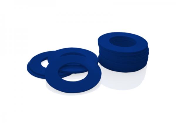 Dekorativer Kunststoffring Blau (Butt)