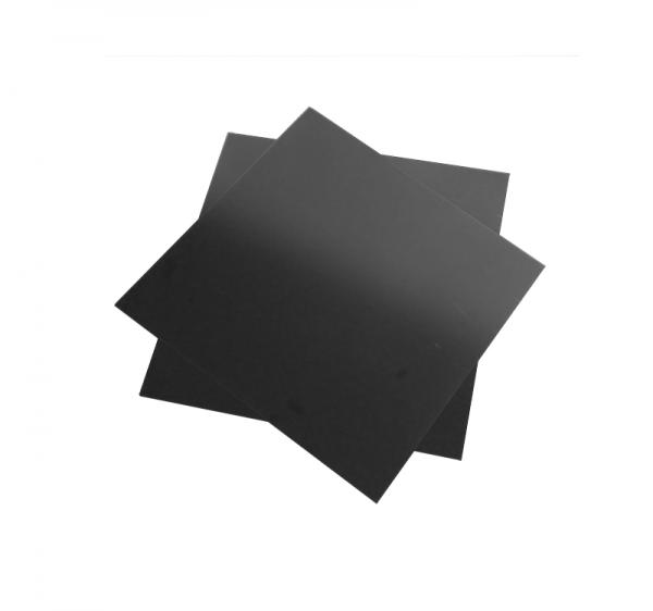 Schwarze Phenol Platte