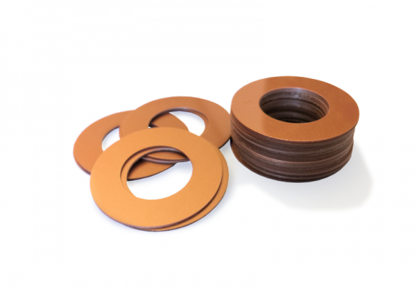 Dekorativer Kunststoffring Kupfer (Butt)