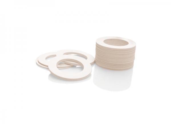 Dekorativer Kunststoffring Elfenbein (Joint)