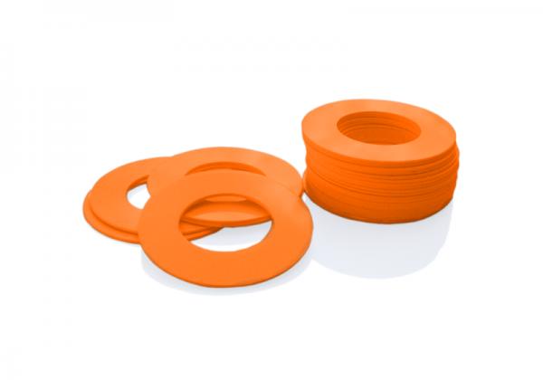 Dekorativer Kunststoffring Orange (Butt)
