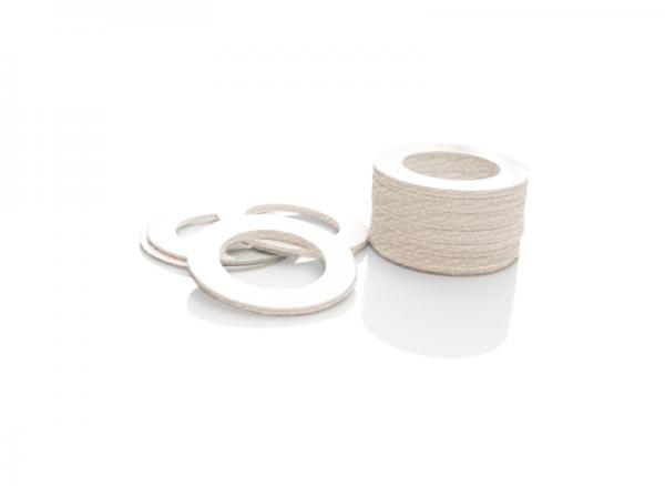 White Fiber Ring (Joint)