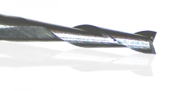 2- Schneiden Karbit Fräser Fischschwanz-Anschliff